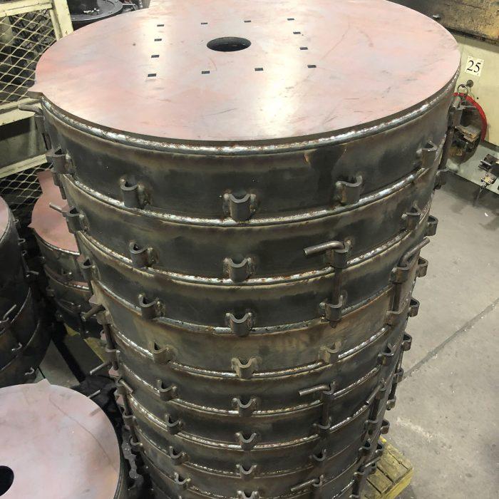 Robot DAIHEN-OTC, positionneur, découpe, plasma
